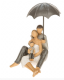 Summer Shower Family Sitting Figurine From the Shudehill Range 65510